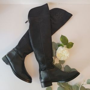 Tory burch Black Simone  Ridding boots over the knee 5.5